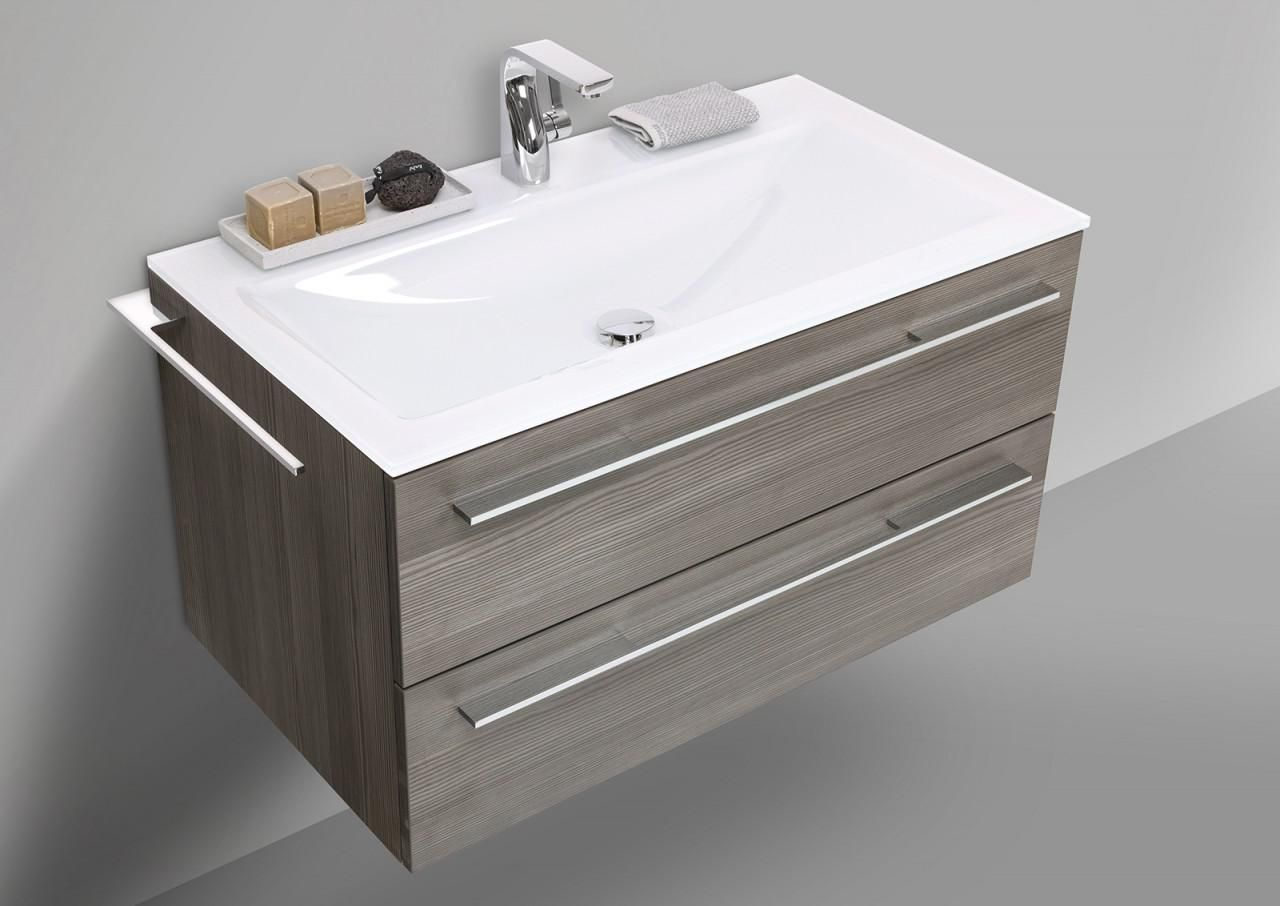 Bad Unterschrank Mit Waschbecken