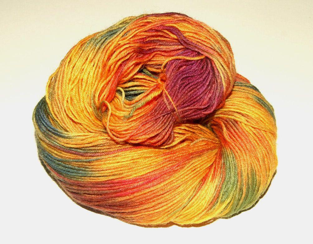Sockenwolle Herbstleuchten 100g Handgefarbt Gerne Stricke Ich Socken Aus Dieser Wolle Auf Anfrage Sock Yarn Hand Dyeing Yarn