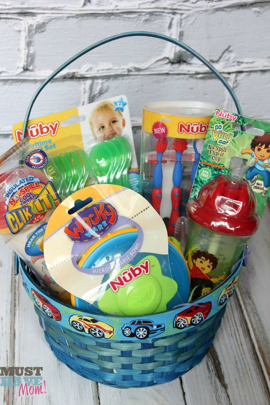 20 adorable easter basket ideas guru koala basket ideas easter basket ideas for toddlers win your choice nuby item giveaway ends from must have mom negle Gallery