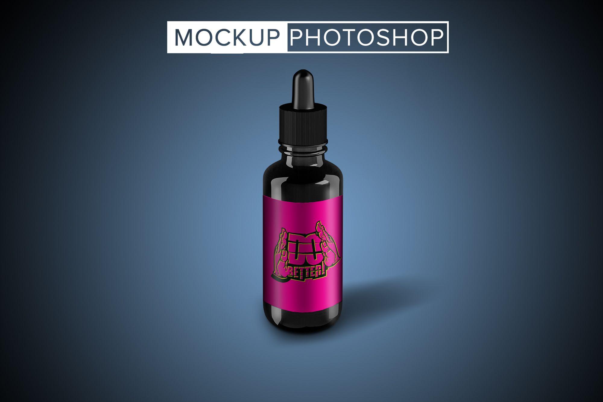 Golden Premium Droplet Label Mockups Branding download