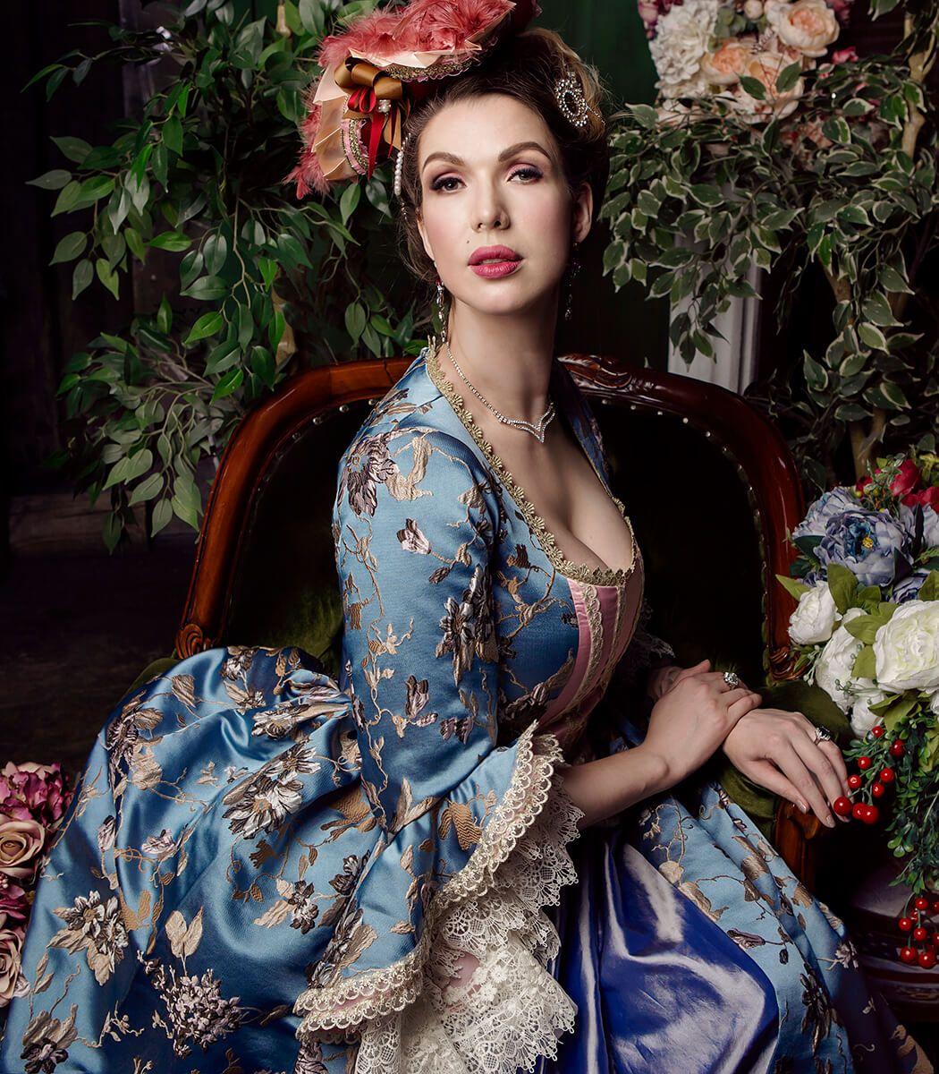 Фотосессия в старинных платьях москва