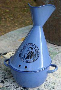 Antique enamel french inhaler