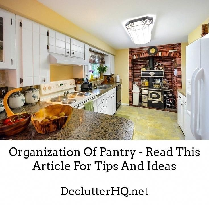 How to organize your pantry, See these step by step instructions. -  Read more about organizing it. #largepantryideas