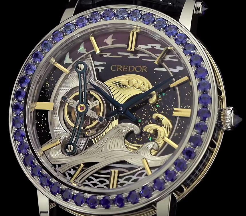 Seiko Credor Fugaku Tourbillon – první tourbillon hodinky