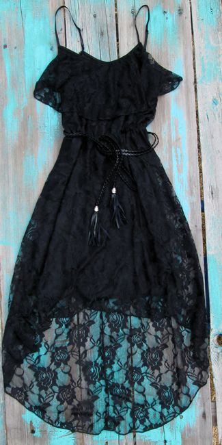 Black Lace Country Chic Dress 30 Dollars This Site Has Lots Of Cute And Affordable Clothes Country Chic Dresses Pretty Dresses Chic Dress