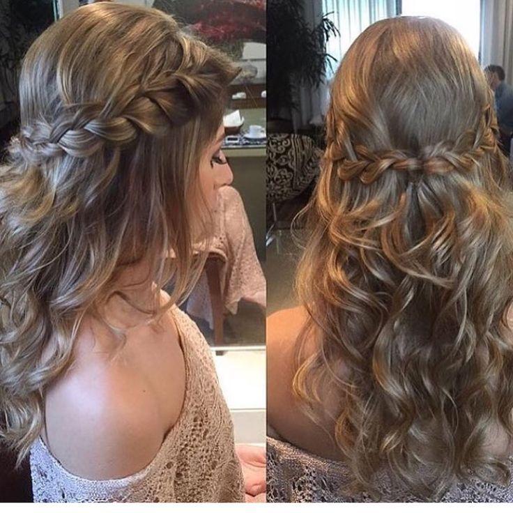 Trenza Peinado Suelto Peinados Con Cabello Suelto Peinado Suelto Peinados