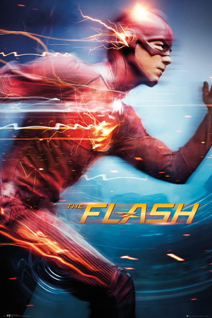 """The Flash (2014) - Barry Allen wakes up 9 months after he was struck by lightning and discovers that the bolt gave him the power of super speed. With his new team and powers, Barry becomes """"The Flash"""" and fights crime in Central City."""
