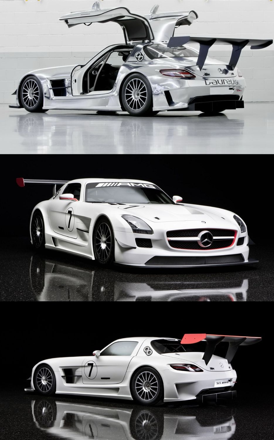 Mercedes Benz Sls Amg Gt 2013 At Festival Of Speed Media Day