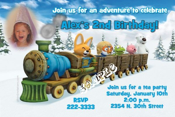 Pororo the Little Penguin Birthday Party Invitations - Get these - create invitations online free no download