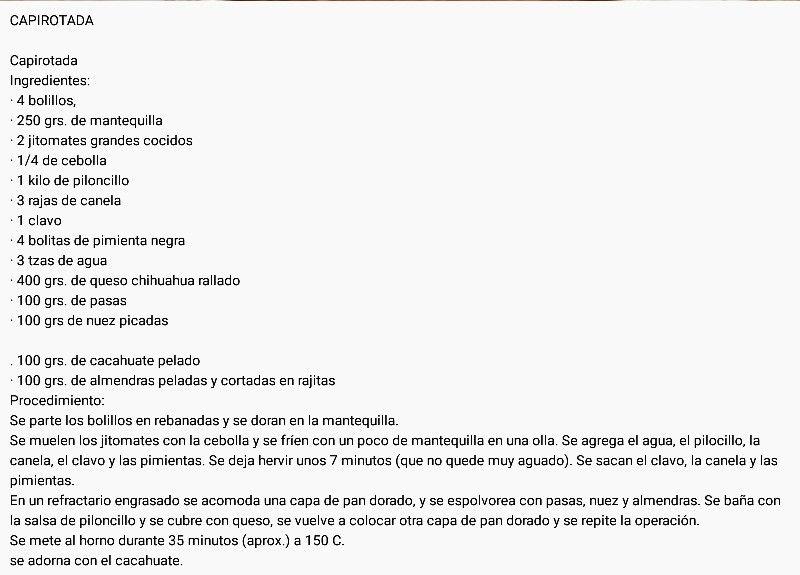 Enchiladas de Colima | Recetas de cocina Fáciles, Rápidas ...  |Capirotada Estilo Colima