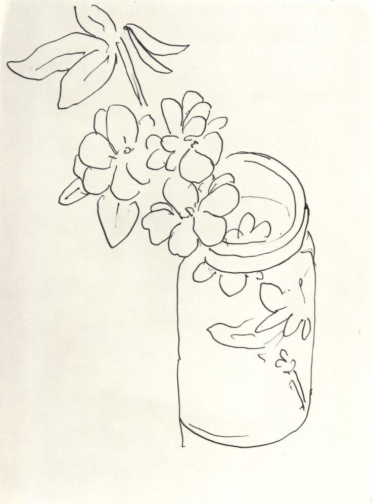henri matisse 1869 1954 fleurs dans un pot en verre drawings pinterest henri matisse. Black Bedroom Furniture Sets. Home Design Ideas