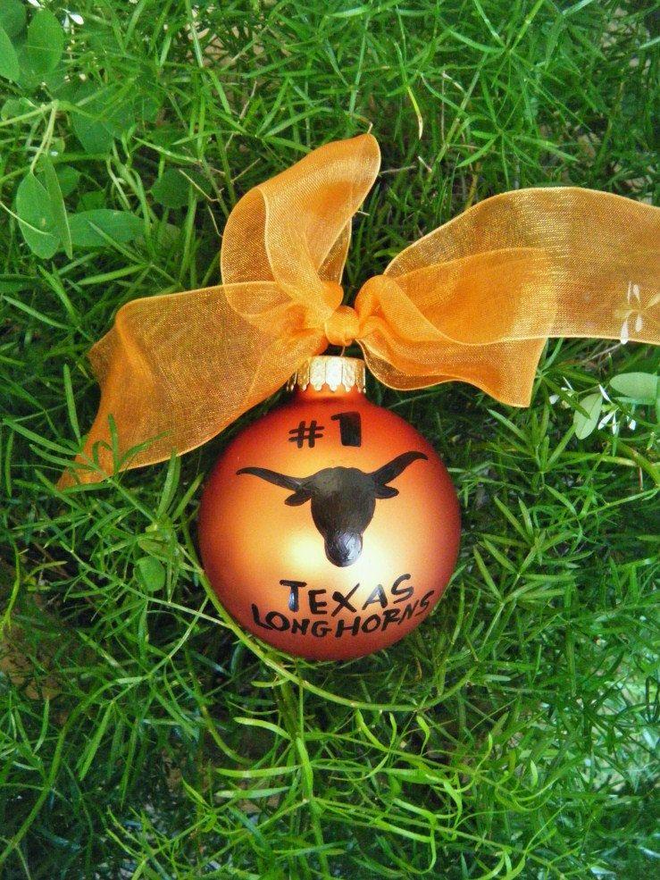 Texas Longhorn Football Ornaments - Personalized Fan ...