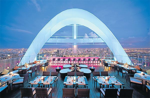 11 Rooftop Bars For The Perfect Midnight Rendezvous Abroad Rooftop Bar Red Sky Sky Bar