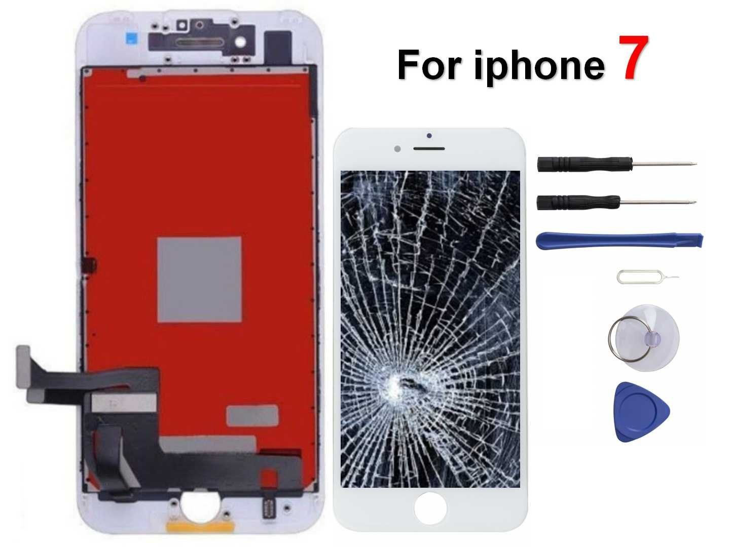Oli And Ode Iphone 7 Screen Replacement For Lcd Touch Screen Digitizer Frame Assembly Set With 3d Touch White Visit Th Screen Replacement Touch Screen Lcd