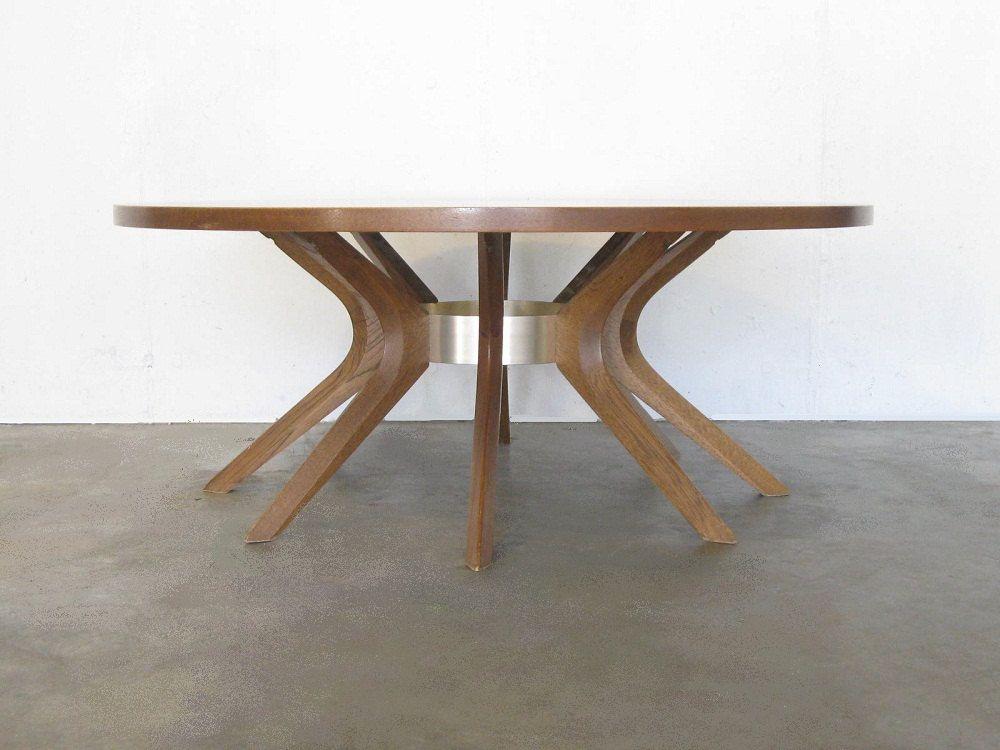 Circa 1960s BROYHILL BRASILIA Cathedral Coffee Table. $800.00, Via Etsy.