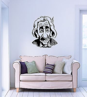 Wall Stickers Vinyl Decal Einstein Theory of Relativity Physics Science (ig982)