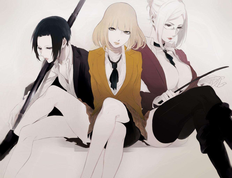 Kangoku Gakuen Anime, Anime art, Anime maid