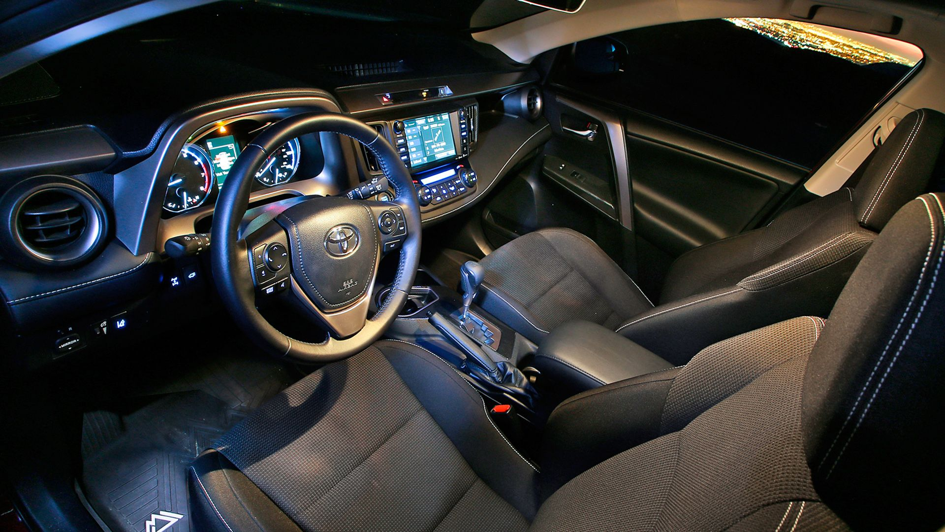 New 2019 Toyota RAV4 Interior Design