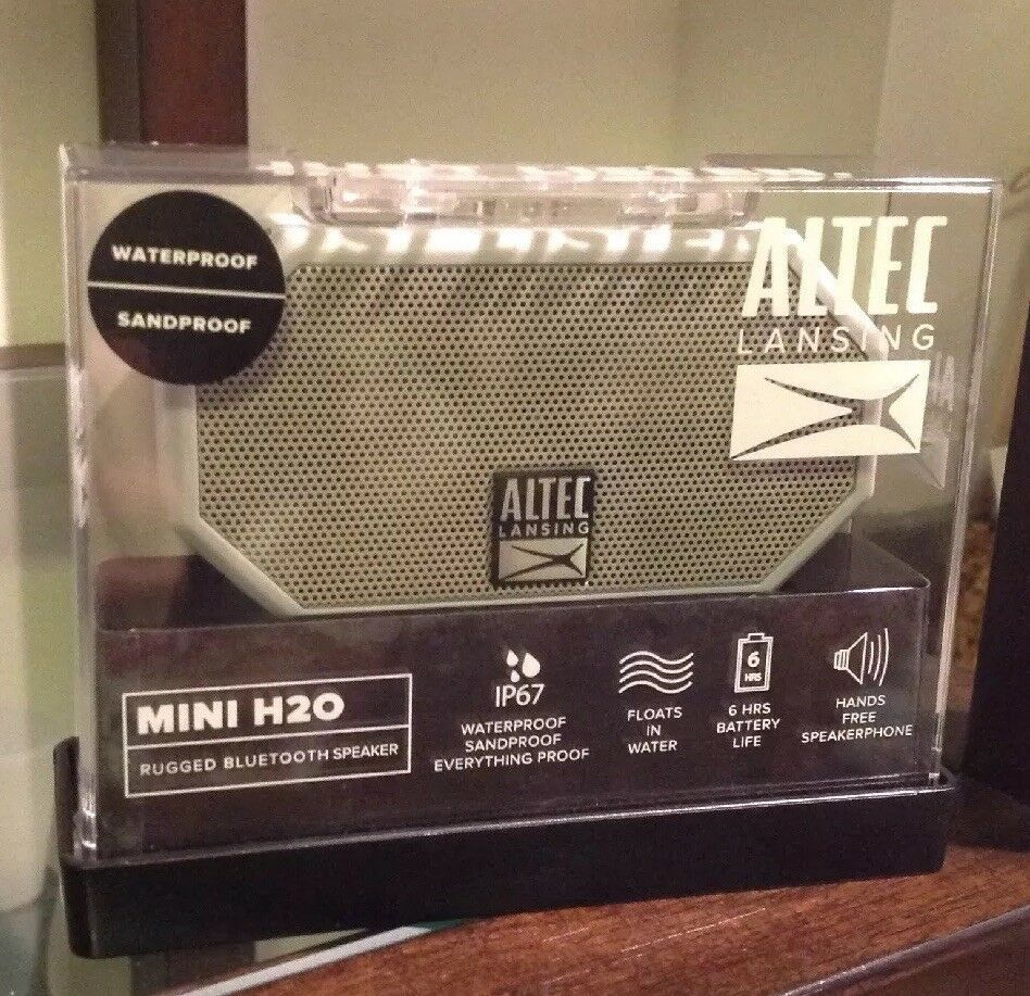 Altec Lansing Mini H2o Rugged Bluetooth Speaker Products Altec