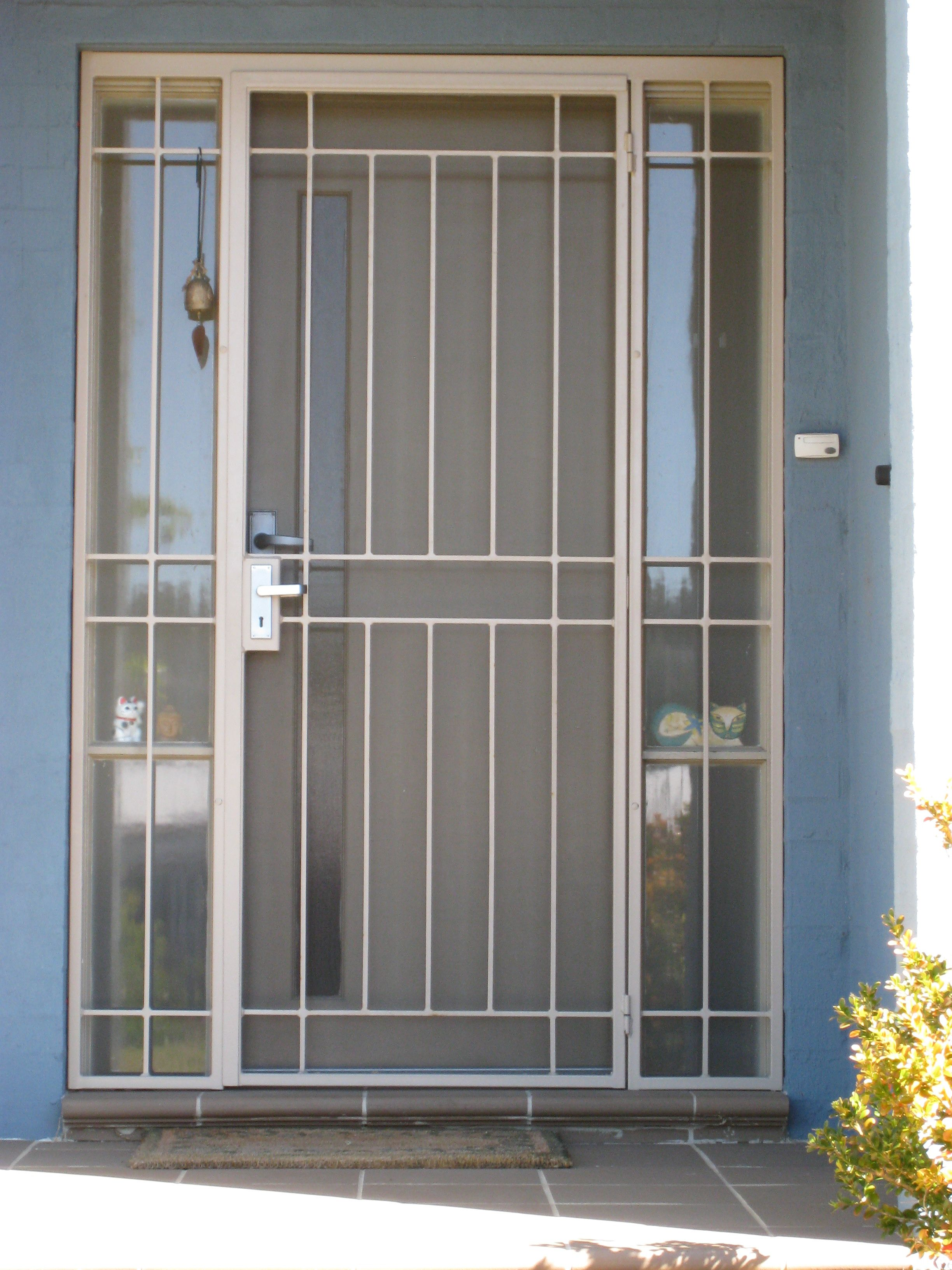 Resemblance Of Unique Design Security Doors Grill Gate Pinterest