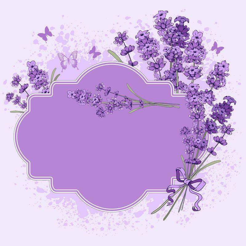 Floral vintage background with lavender (4) [преобразованный ...
