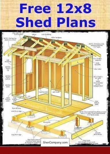 Build Shed 12x16 and PICS of Free Garden Shed Plans 8x10