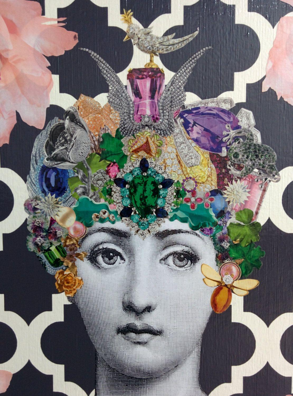 Fornasetti Art Prints Afficher Limage Dorigine Art Du Papier Pinterest Decoupage