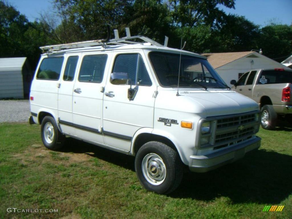 1990 Chevy Van G10 Cargo   Tan Photo  1