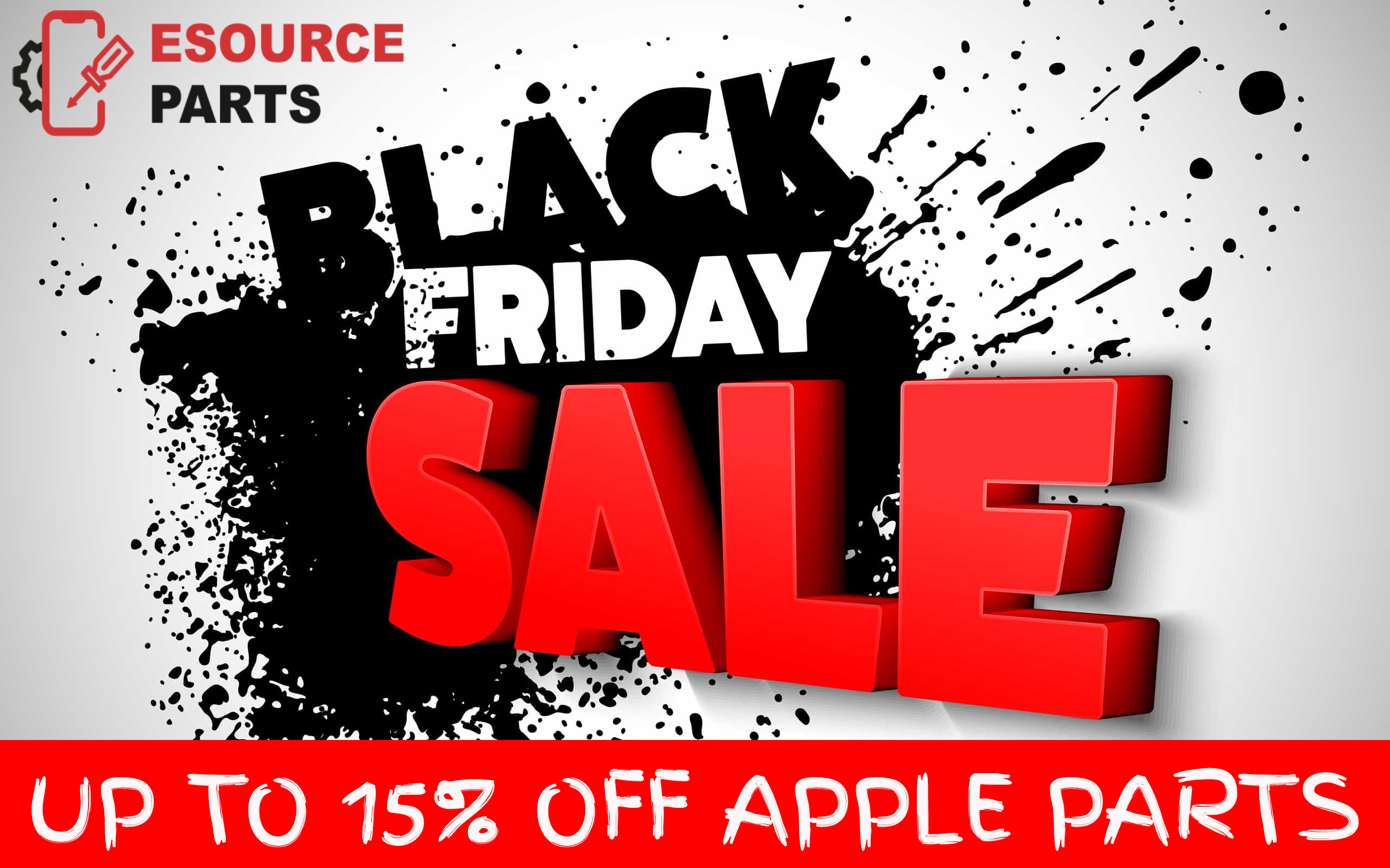 Black Friday Sale Up 15 Off Esource Parts In 2020 Black Friday Sale Black Friday Black Friday Ads