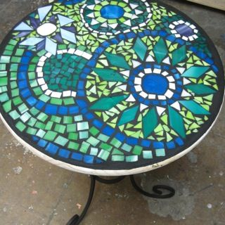 Stained Glass Garden   Classes And Workshops   Mosaic Tabletops