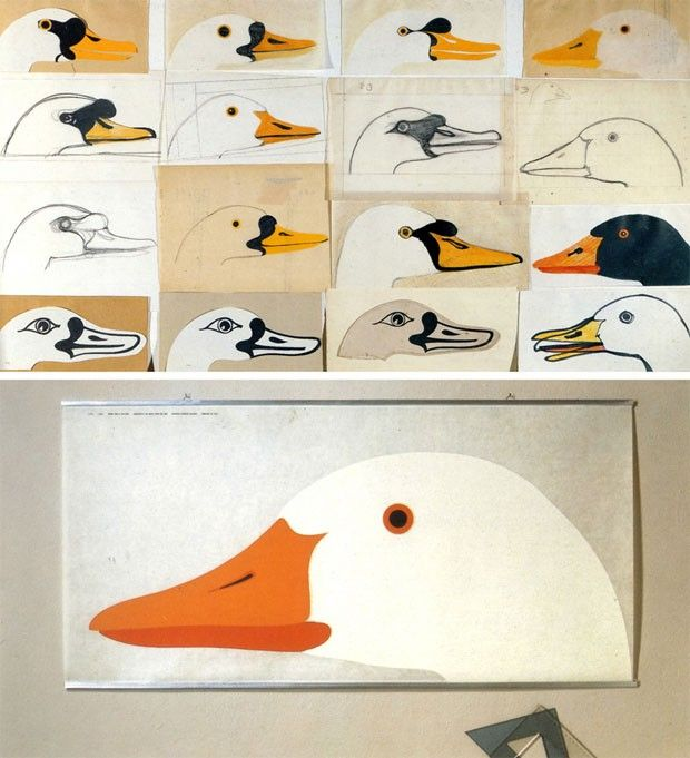 Os pôsteres icônicos de Enzo Mari | Arte de pássaro, Design de arte, Poster