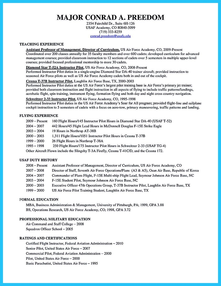 28+ Pilot resume template free download Resume Examples