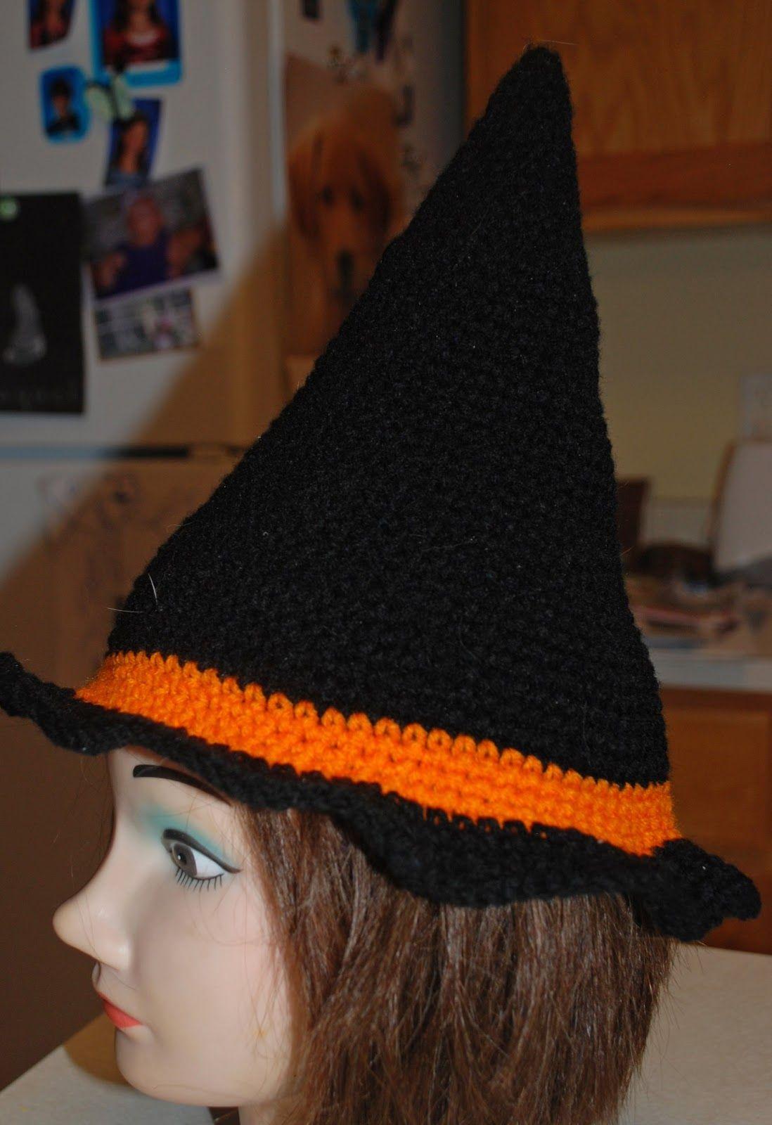 Free crochet pattern - Crochet Creative Creations: Crochet Witch Hat ...