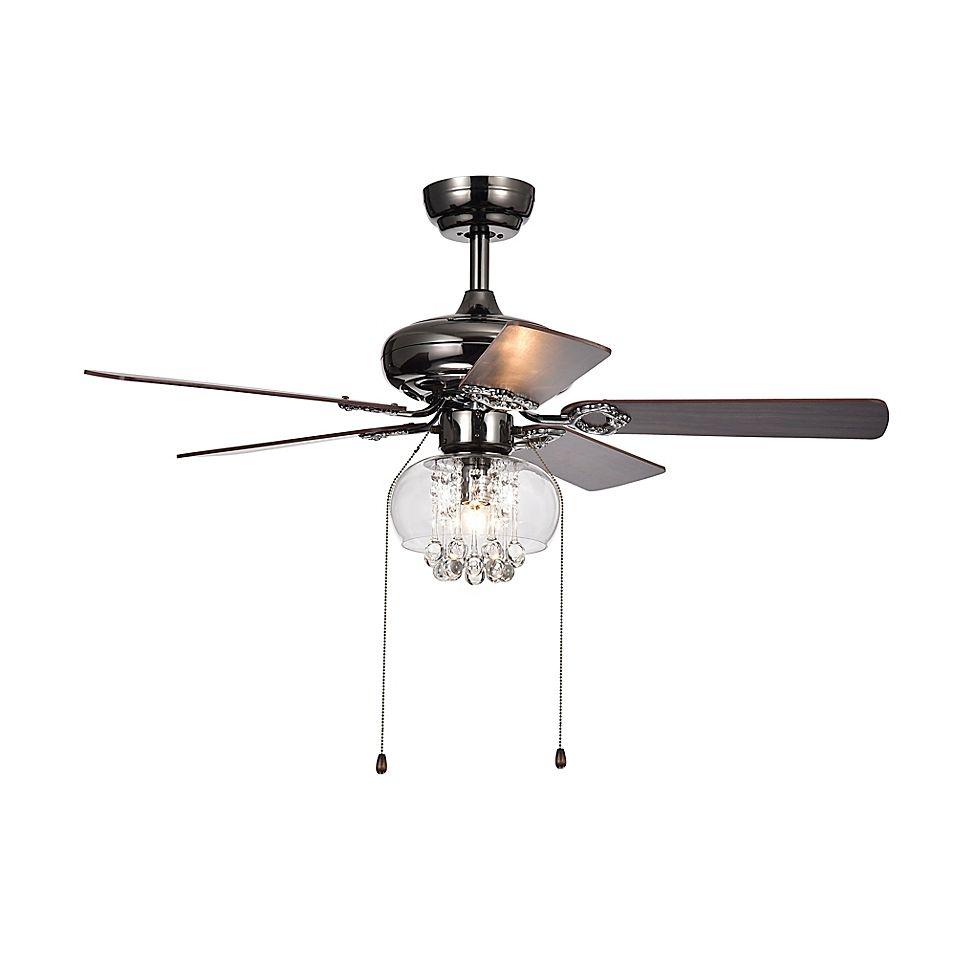 Aequor 42 Inch Ceiling Fan In Brown Black Ceiling Fan Metal Ceiling Pull Chain Light Fixture