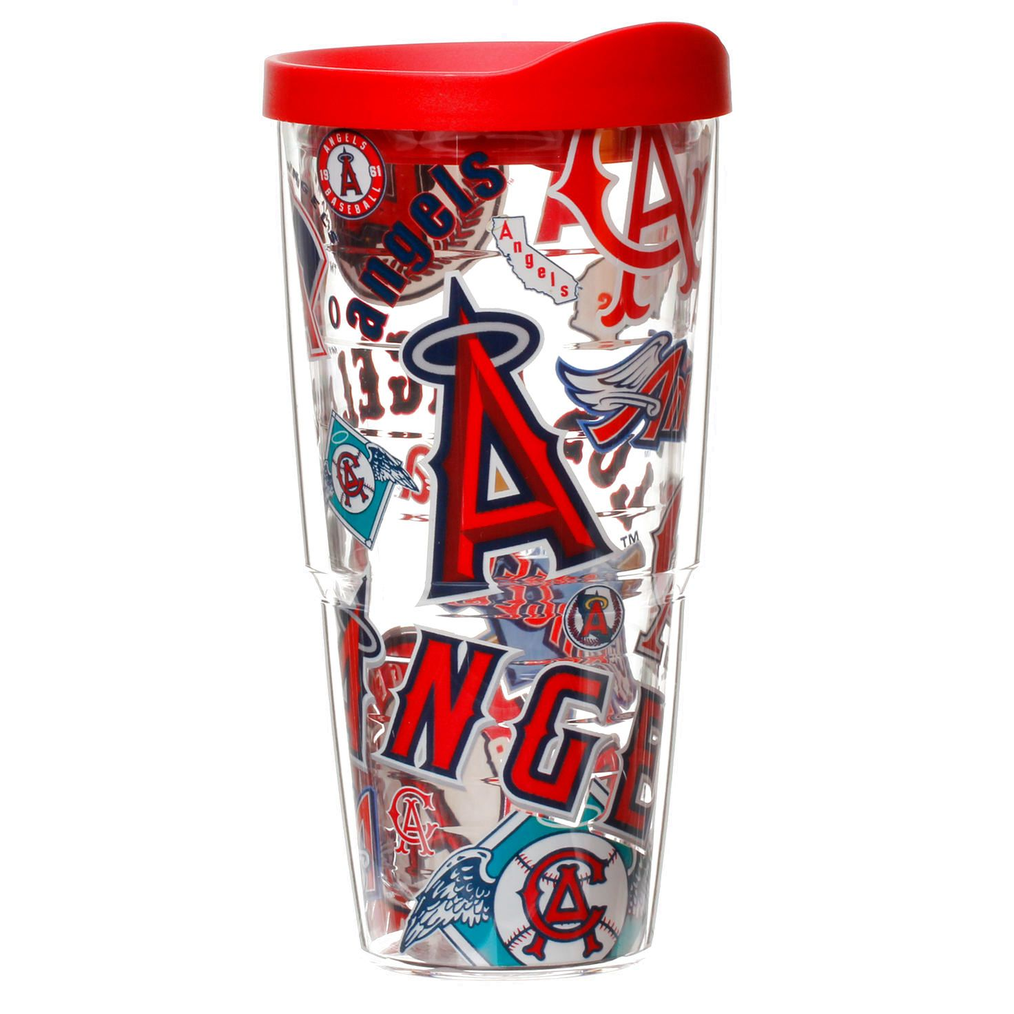 Los Angeles Angels of Anaheim Tervis 24oz. All Over Wrap Tumbler with Lid - $19.99
