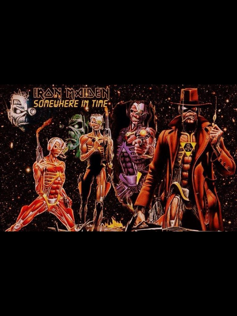 Iron Maiden - ~Somewhere in Time | coups de coeur | Pinterest