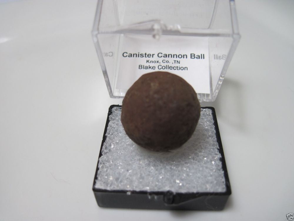 Authentic Civil War Relic Iron Confederate Cannonball