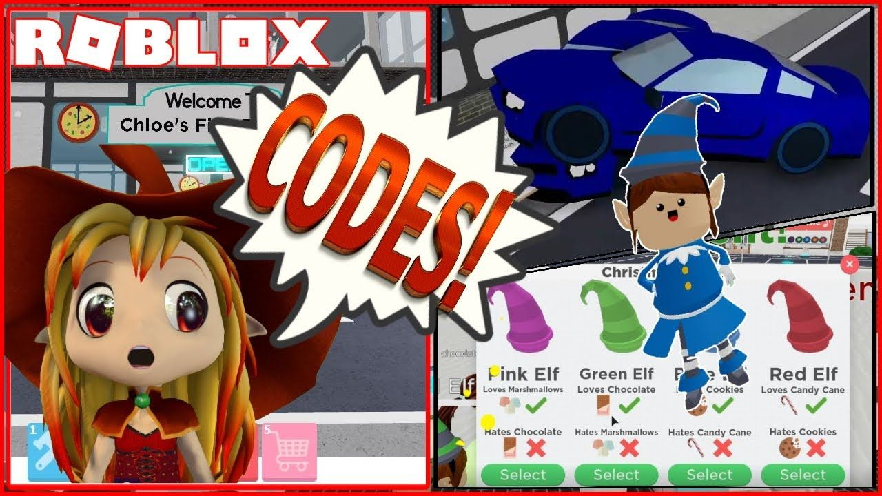 Codes Elf Pet And Rare Christmas Items In Roblox Restaurant