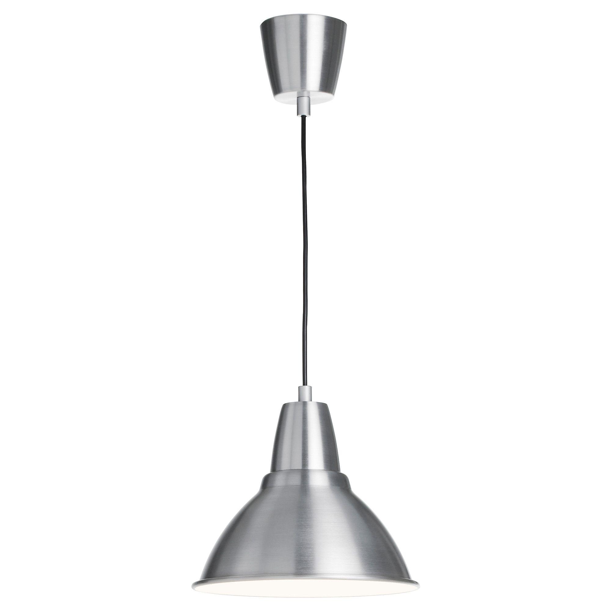 FOTO Taklampe - aluminium, 25 cm - IKEA kjøkken? skrivepulter?