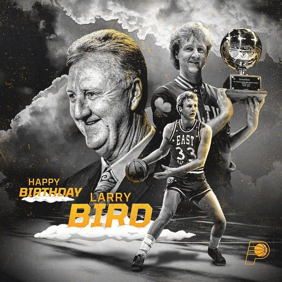 Pin by Pam Lovell on Indiana Pacers Larry bird, Happy