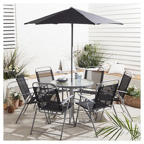 Outside Tables And Chairs Tesco Office Chair With Attached Desk Gardenbargainsuk On Gardening Bargains Uk Garden Furniture Sets Hawaii Set 8 Piece Was 100 Now 65 At Direct