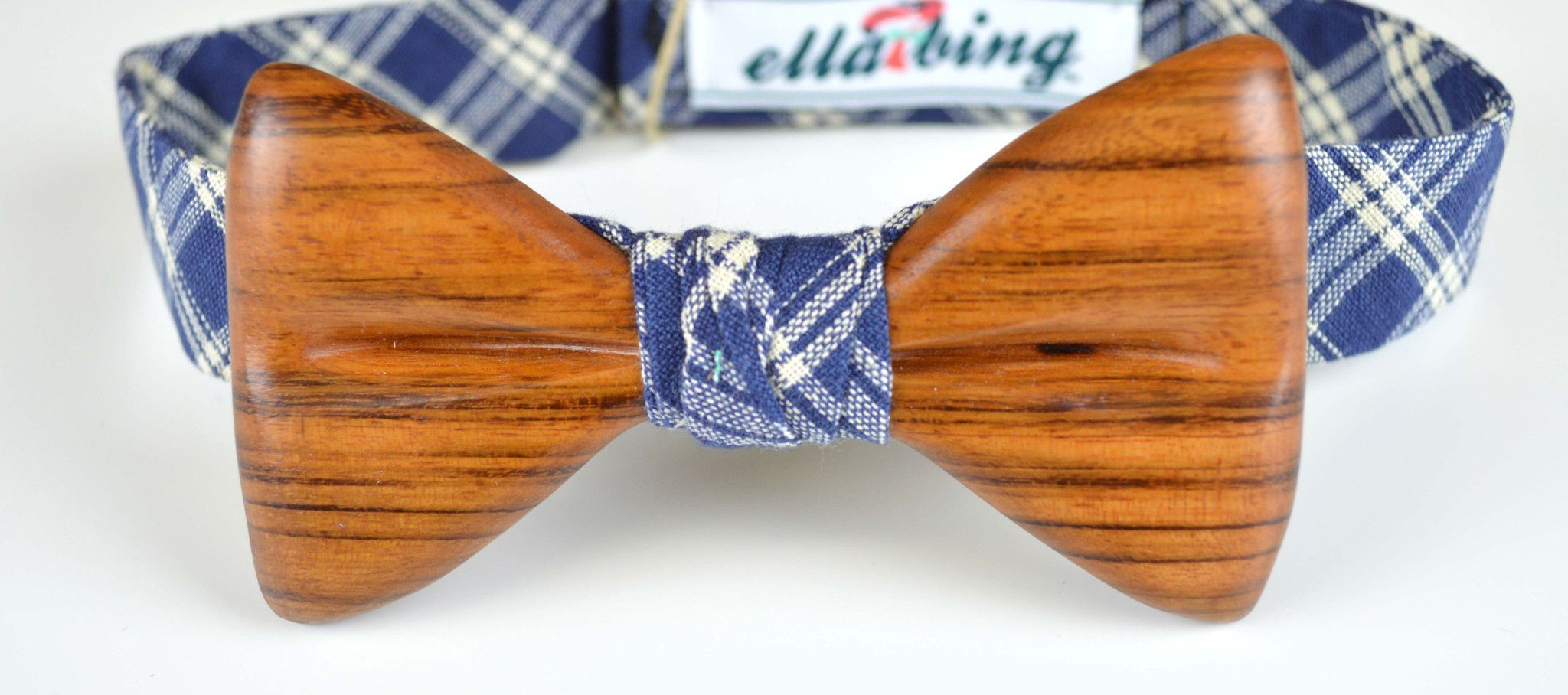 The Ozzie Ovadiah Wooden Bow Tie