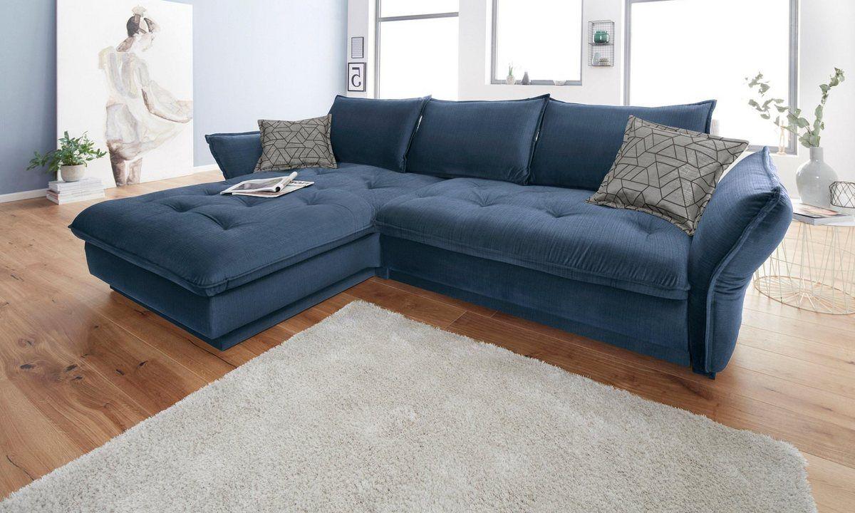 Inosign Ecksofa Palladio Wahlweise Mit Bettfunktion Und Ambiente Rgb Led Beleuchtung Online Kaufen Sofa Ecksofa Polsterecke