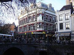 Utrecht: McDonald's Oude Gracht