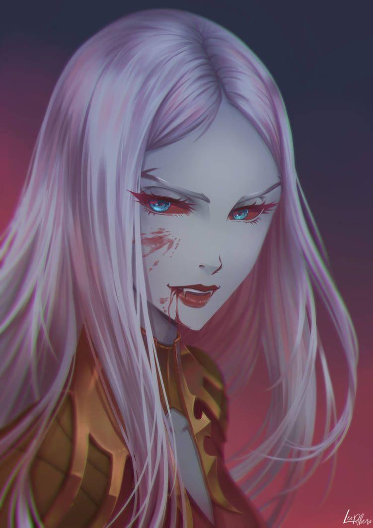 Carmila Castlevania By Leofoxart On Deviantart Digital Art Anime Vampire Art Vampire Girls
