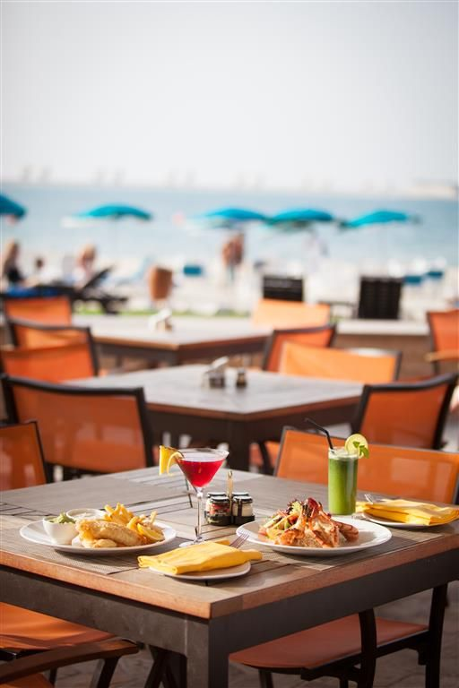 Grab a drink or snack at our Anchor Bar by the beach while you're staying at The Residence at our #JApalmtreecourt Find out more: qoo.ly/3jdty