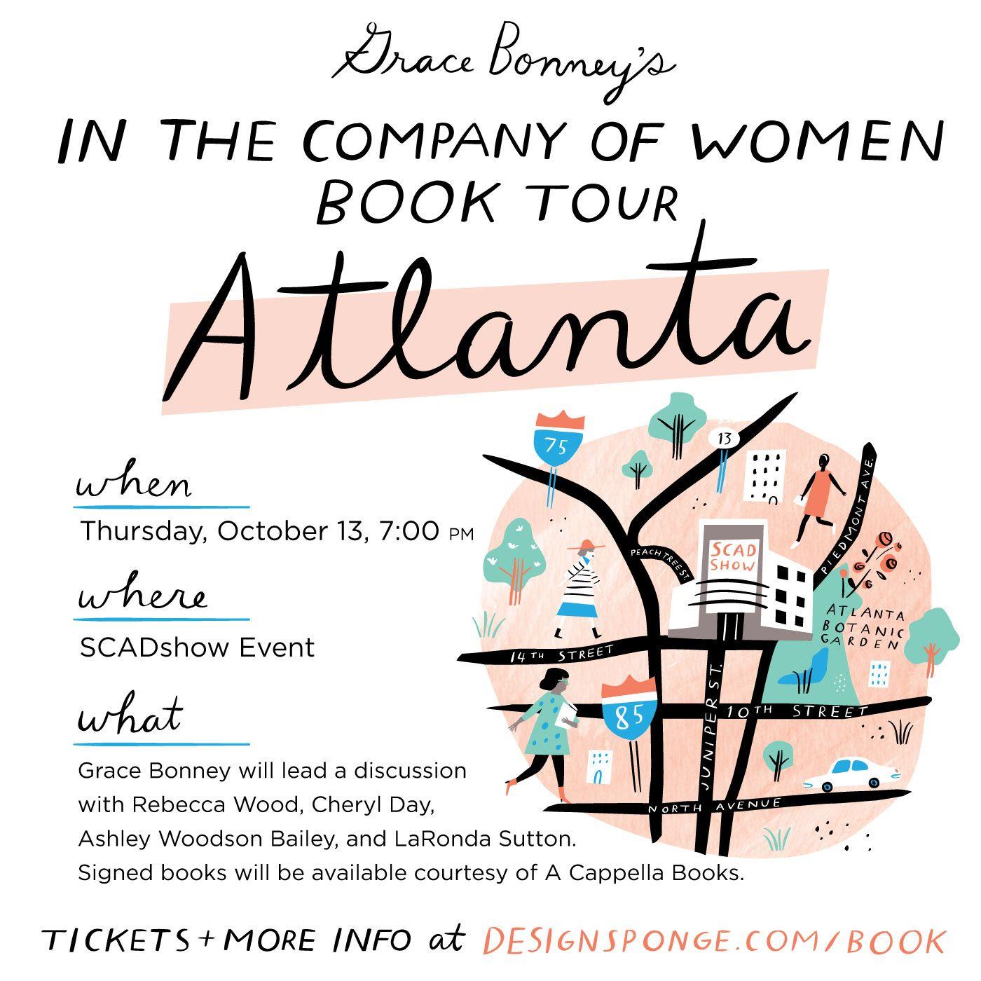 Book Tour: ATLANTA!