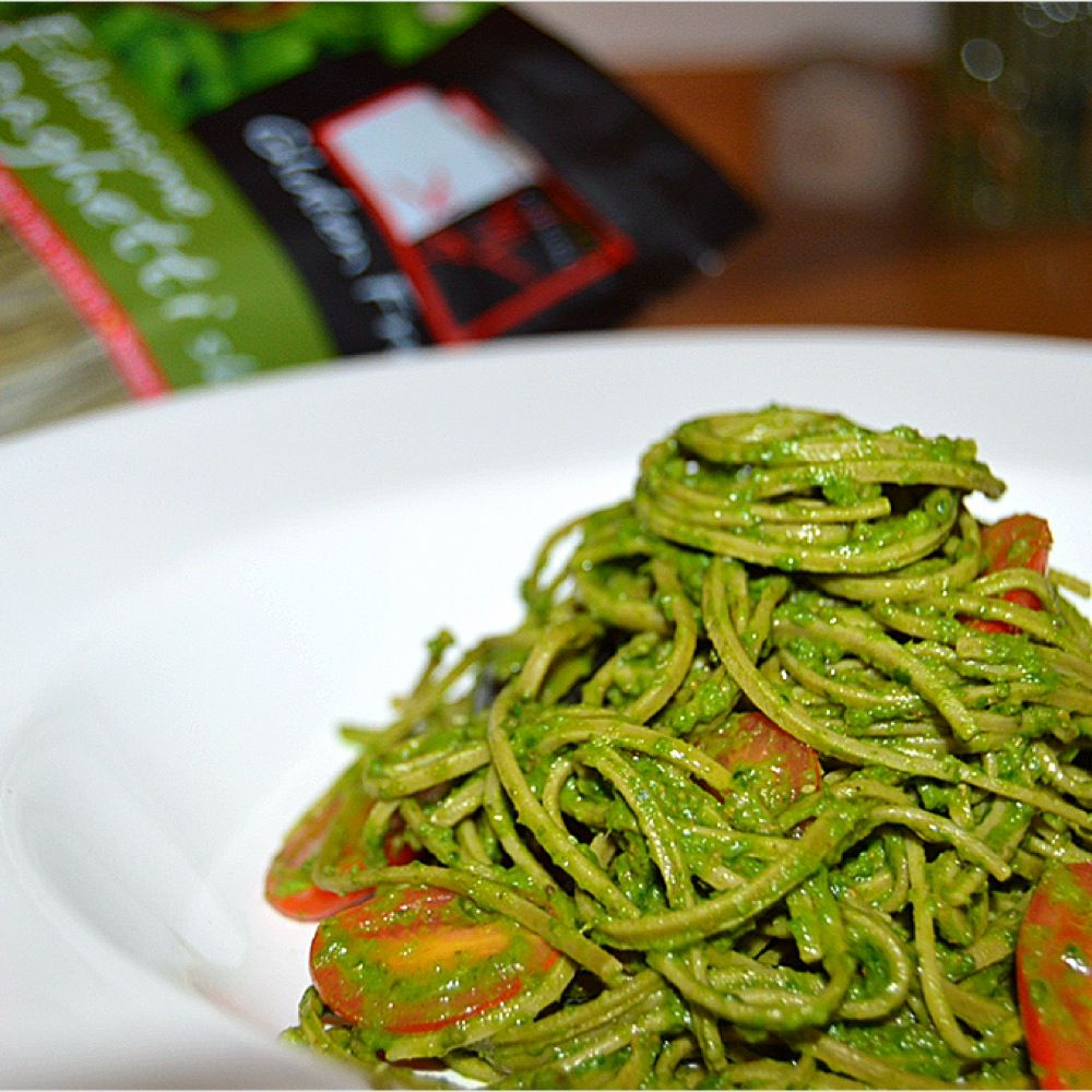 Chilled Edamame Noodle Vegan Spaghetti Oh Yeah This Is