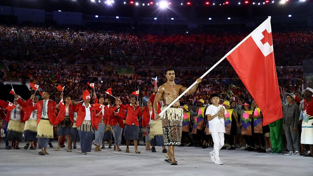 Copyright: 2016 Getty Images. Kuva: Cameron Spencer. > Rio 2016, Tonga