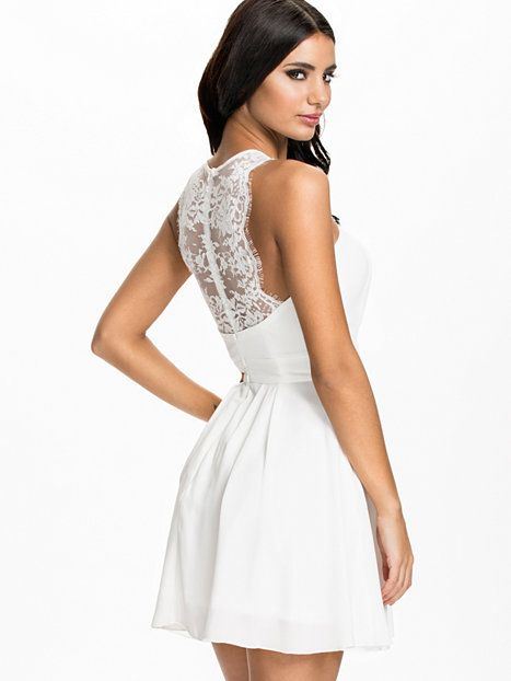 Lace Chiffon Skater Dress